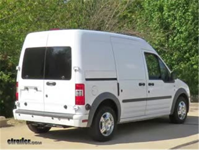 600116a515 Curt Trailer Hitch Installation - 2011 Ford Transit Connect Video ...