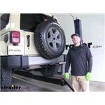 Draw-Tite Max-Frame Trailer Hitch Installation - 2011 Jeep Wrangler