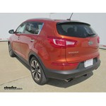 Trailer Hitch Installation - 2011 Kia Sportage - Draw-Tite