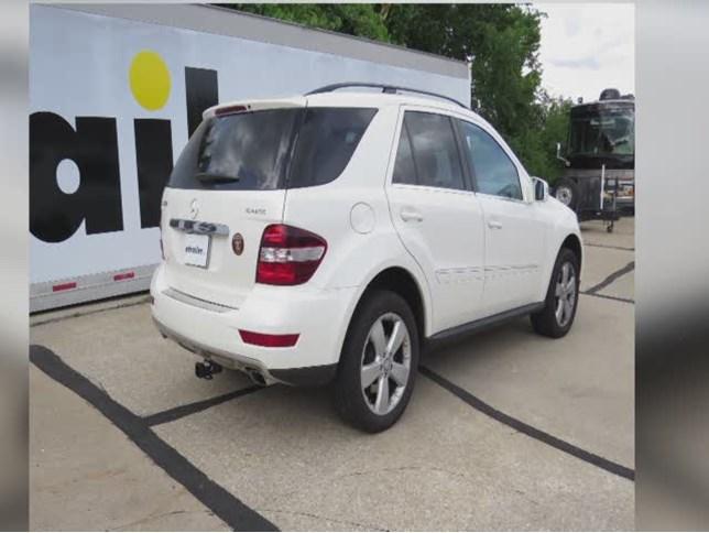 0 mercedes benz m class trailer hitch hidden hitch for Mercedes benz trailer hitch