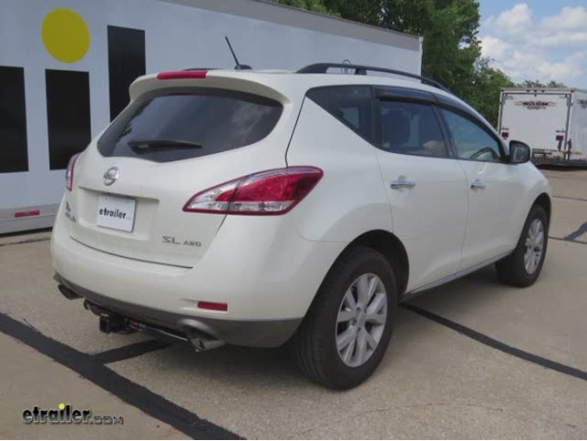 install trailer hitch 2011 nissan murano 13577_644 trailer hitch installation 2011 nissan murano curt video  at honlapkeszites.co