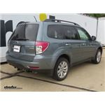 Trailer Hitch Installation - 2011 Subaru Forester - Draw-Tite