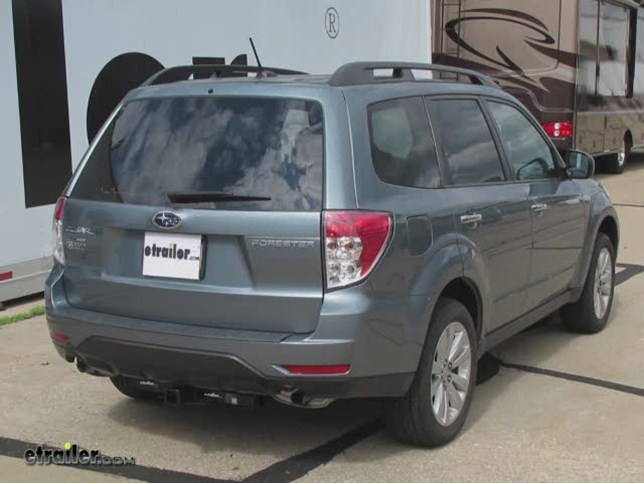2011 subaru forester trailer hitch hidden hitch. Black Bedroom Furniture Sets. Home Design Ideas