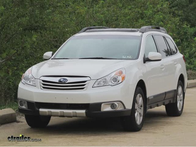 2011 Subaru Outback Wagon Trailer Hitch