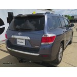 Trailer Hitch Installation - 2011 Toyota Highlander - Draw-Tite