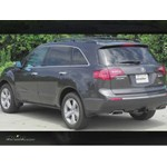 Trailer Hitch Installation - 2012 Acura MDX - Draw-Tite