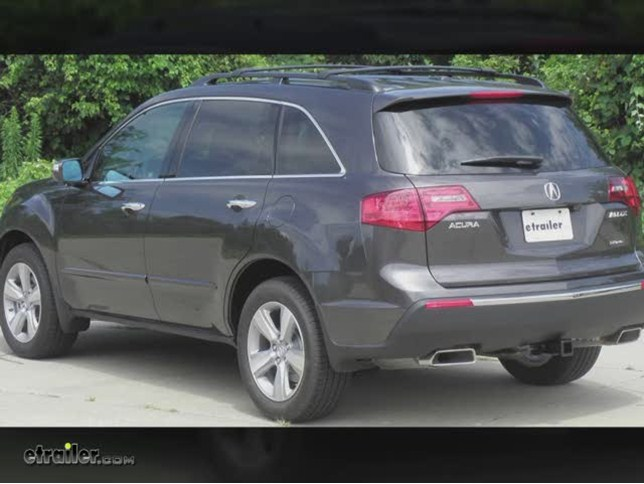 install trailer hitch 2012 acura mdx 75614_644 trailer hitch installation 2012 acura mdx draw tite video