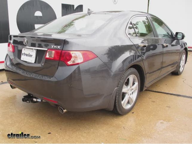 trailer hitch installation 2012 acura tsx draw tite video rh etrailer com Acura TSX Manual Transmission Acura TSX Air Conditioning