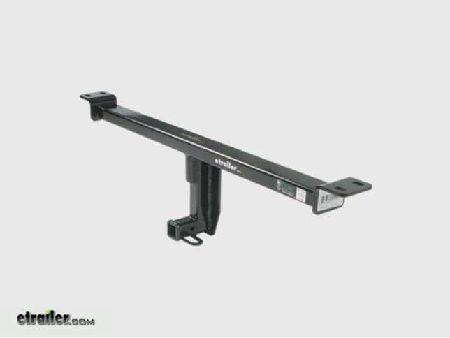 2012 audi a3 curt trailer hitch receiver - custom fit - class i  4 u0026quot