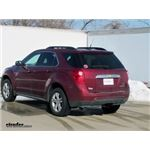etrailer.com Trailer Hitch Installation - 2012 Chevrolet Equinox