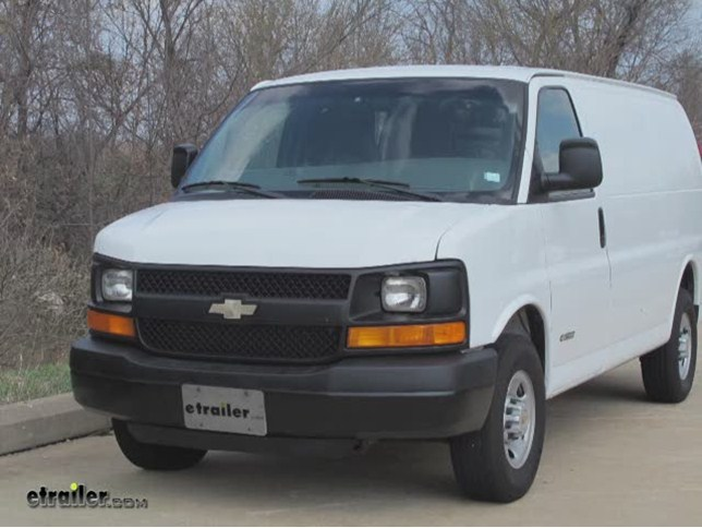 install trailer hitch 2012 chevrolet express van 45007_644 trailer hitch installation 2012 chevrolet express van draw 2013 chevy express wiring diagram at panicattacktreatment.co