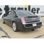 Trailer Hitch Installation - 2012 Chrysler 300C - Curt