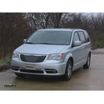 Trailer Hitch Installation - 2012 Chrysler Town and Country