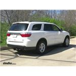 Trailer Hitch Installation - 2012 Dodge Durango - Draw-Tite