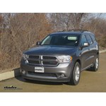 Trailer Hitch Installation - 2012 Dodge Durango - Curt