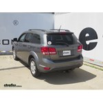 Trailer Hitch Installation - 2012 Dodge Journey - Curt