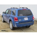 Trailer Hitch Installation - 2012 Ford Escape - Hidden Hitch