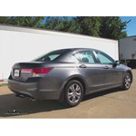 Trailer Hitch Installation - 2012 Honda Accord - Draw-Tite