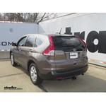 Trailer Hitch Installation - 2012 Honda CR-V - Draw-Tite