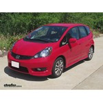 Trailer Hitch Installation - 2012 Honda Fit - Curt