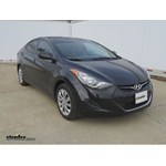 Trailer Hitch Installation - 2012 Hyundai Elantra - Curt