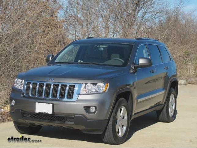 2012 Jeep Grand Cherokee Trailer Hitch