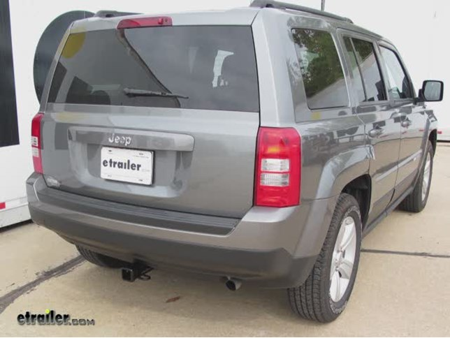 2014 Jeep Patriot Trailer Hitch