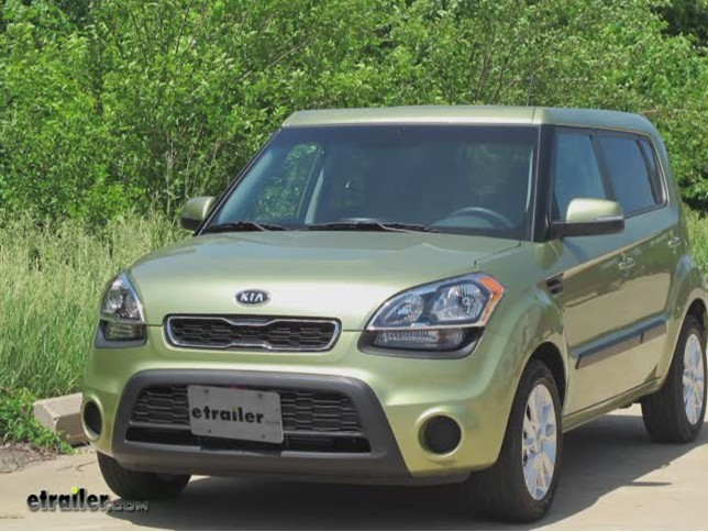Trailer Hitch Installation 2012 Kia Soul Curt Video etrailercom