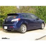 Trailer Hitch Installation - 2012 Mazda 3 - Curt