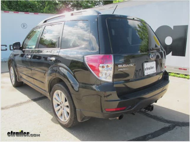 2012 subaru forester trailer hitch curt. Black Bedroom Furniture Sets. Home Design Ideas