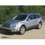 Trailer Hitch Installation - 2012 Subaru Outback Wagon - Draw-Tite