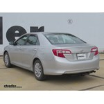 Trailer Hitch Installation - 2012 Toyota Camry - Curt