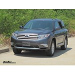 Trailer Hitch Installation - 2012 Toyota Highlander - Draw-Tite