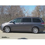 Video install trailer hitch 2012 toyota sienna c13105