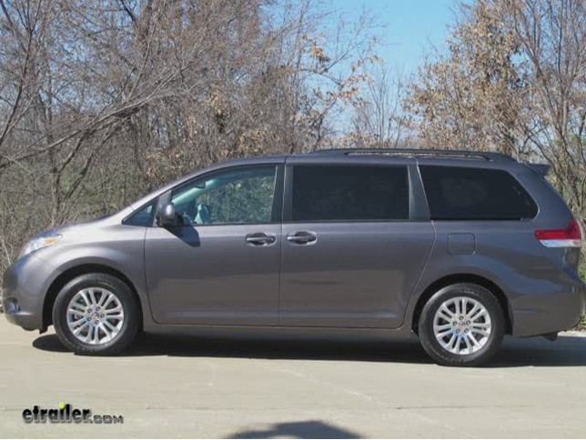 2012 Toyota Sienna Trailer Hitch Curt