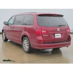 Trailer Hitch Installation - 2012 Volkswagen Routan