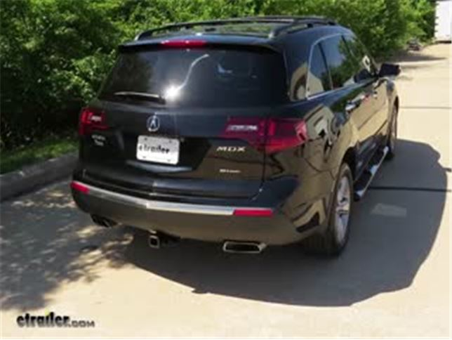 Trailer Hitch Installation Acura MDX Curt Video Etrailercom - Tow hitch for acura mdx