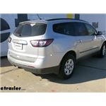 etrailer.com Trailer Hitch Installation - 2013 Chevrolet Traverse