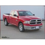 Trailer Hitch Installation - 2013 Dodge Ram - Draw-Tite