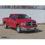 Trailer Hitch Installation - 2013 Dodge Ram - Curt