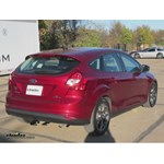 Trailer Hitch Installation - 2013 Ford Focus - Draw-Tite