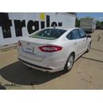 Trailer Hitch Installation - 2013 Ford Fusion - Draw-Tite
