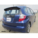 Trailer Hitch Installation - 2013 Honda Fit - Curt