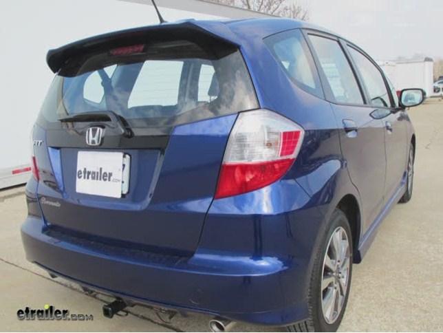 2009 Honda Fit Curt Trailer Hitch Receiver Custom Fit