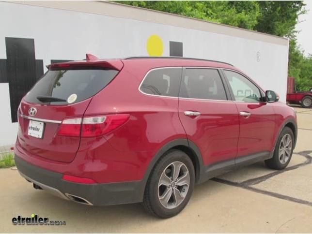 2013 Hyundai Santa Fe Trailer Hitch Draw Tite