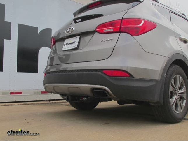 Trailer Hitch Installation 2013 Hyundai Santa Fe Curt Video