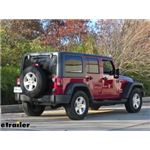 Jeep Wrangler Unlimited Trailer Hitch etrailercom