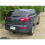 Trailer Hitch Installation - 2013 Kia Sportage - Curt