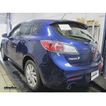 Trailer Hitch Installation - 2013 Mazda 3 - Curt