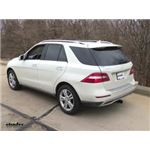 Draw-Tite Max-Frame Trailer Hitch Installation - 2013 Mercedes-Benz M-Class